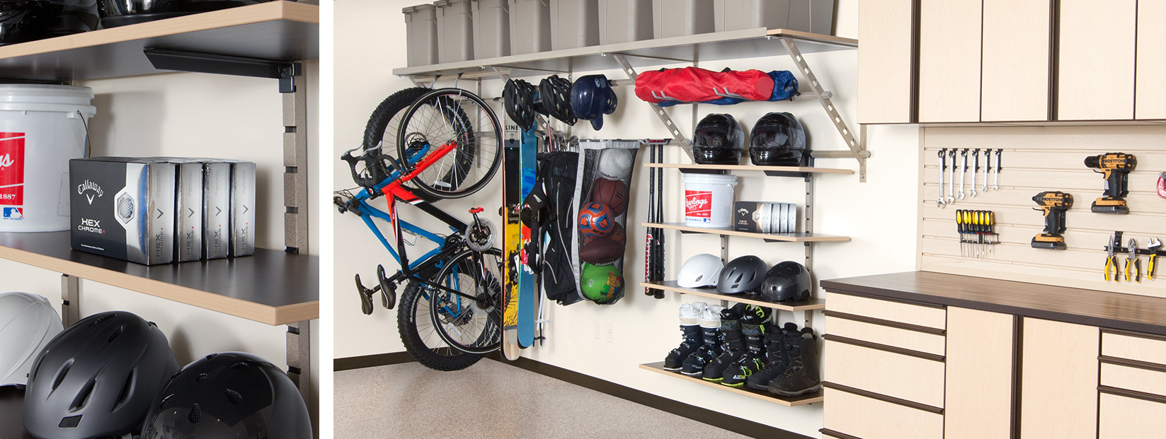 Garage Shelving System Charleston